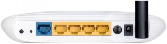 Роутер TP-Link WR740N вид сзади