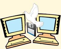 Передача файлов с компьютера на компьютер