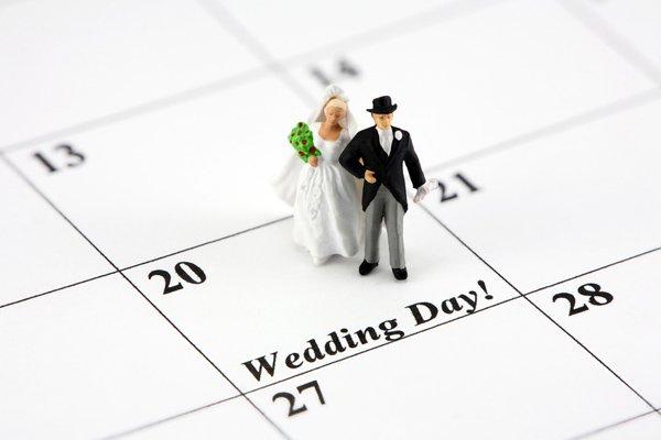 Красивая дата на свадьбу