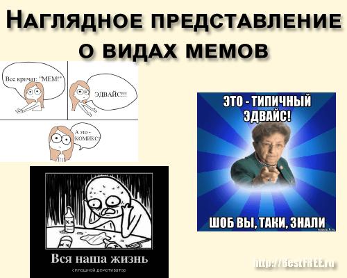 Разновидности мемов