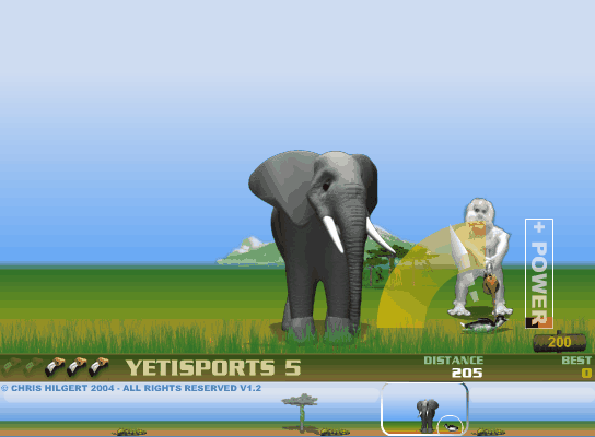 Yetisports part 8 screenshot 3