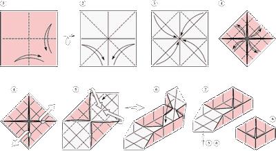 Как сделать оригами коробочку из бумаги своими руками видео