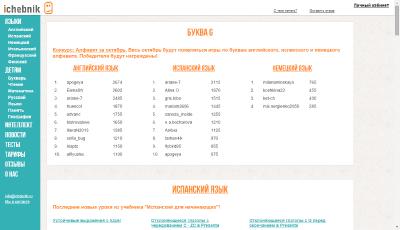 Портал IChebnic.ru