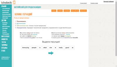 Тема по герундию английского языка на IChebnic.ru