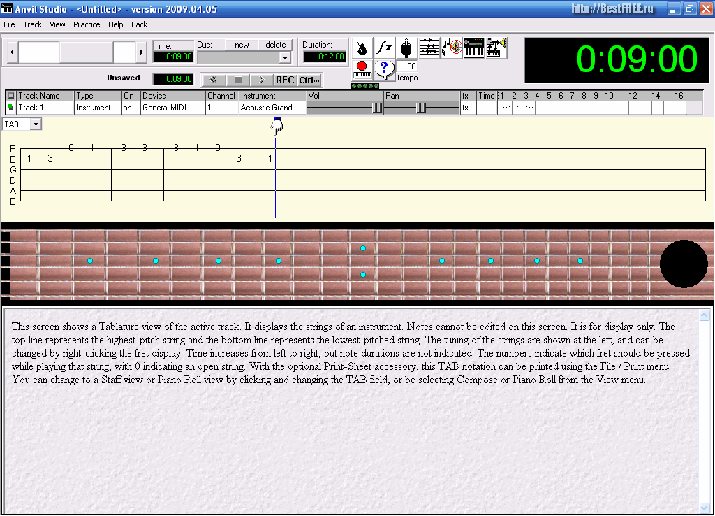 программа для написания нот онлайн - фото 3