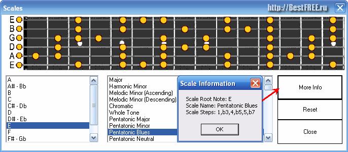 Для соло программу гитары