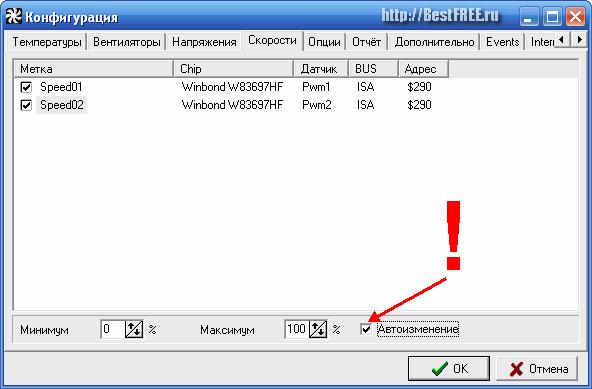 Программу Для Настройки Edtkbxtybz Скорости Кулеров