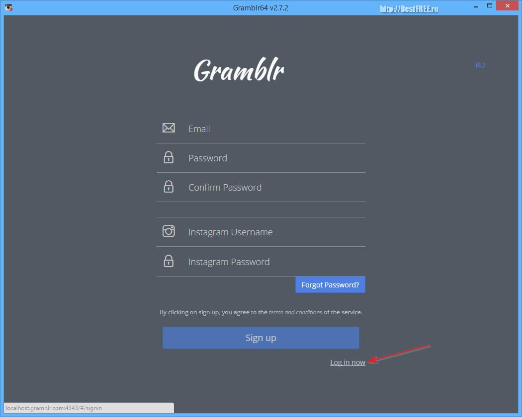 программа для инстаграма gramblr