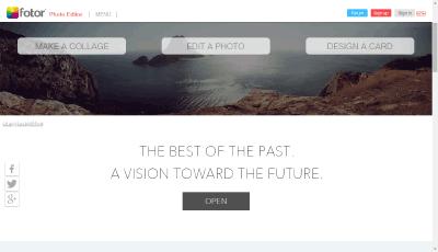 Обработка фото в Fotor