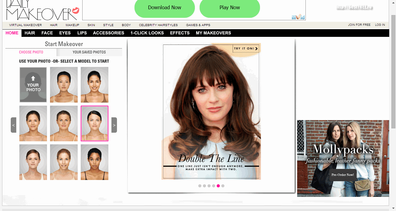 Виртуальный макияж онлайн: бесплатные сервисы — Страница 2