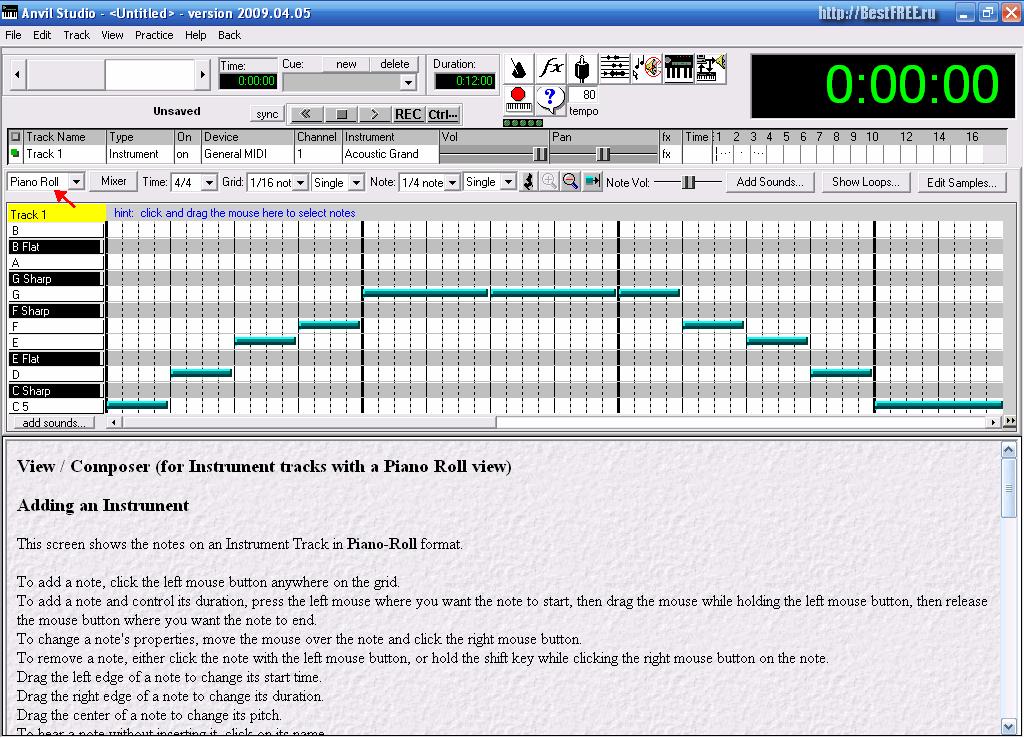 Программа для транспонирования песен скачать