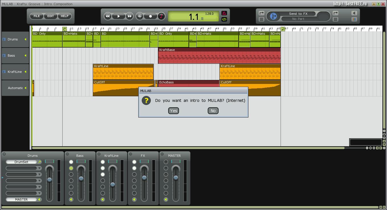 Скачать программу для создания своей музыки бесплатно